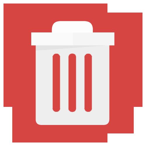 Slette uønskede filer og snarveier