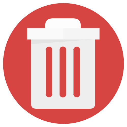 Elimine ficheiros e atalhos indesejados